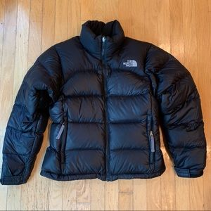 The North Face Womens Black Puffer Coat sz S